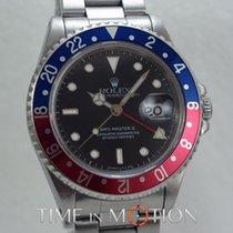 Rolex GMT MASTER II 16710 Pepsi Full Tritium  Certif Rolex +...