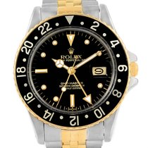 Rolex Gmt Master Steel Yellow Gold Nipple Dial Vintage Watch...