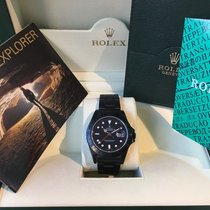 "ロレックス (Rolex) -Explorer II ref. 16570 Hunter"" Black PVD /..."