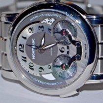 Montblanc 102336 Staal Nicolas Rieussec 43mm tweedehands