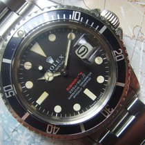 Rolex 1968 Very Rare Tropical MKII Rolex Red Submariner