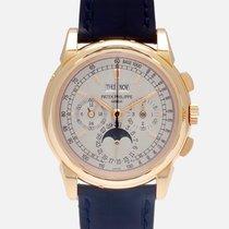 Patek Philippe Růžové zlato Ruční natahování 40mm použité Perpetual Calendar Chronograph