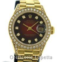 Rolex Datejust Lady Quadrante e ghiera con brillanti 69158