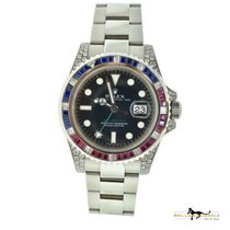Rolex 116759SARU Steel GMT-Master II 40mm