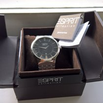 Esprit Steel 45mm Quartz new