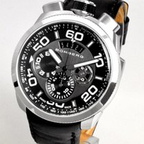 Bomberg Steel 45mm Quartz BS45CHSS.008.3 new
