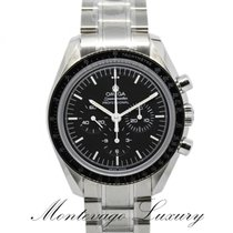 Omega Cronografo 42mm Manuale nuovo Speedmaster Professional Moonwatch Nero