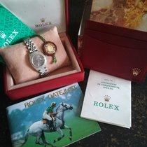 Rolex Zilver Quartz Zwart Geen cijfers 26mm nieuw Lady-Datejust