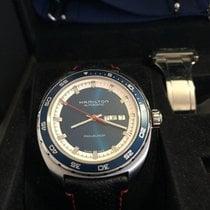 Hamilton 42mm Remontage automatique 2014 occasion Pan Europ Bleu