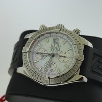 Breitling Chronograph 44mm Automatic pre-owned Chronomat Evolution Mother of pearl