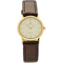 Omega Dameshorloge De Ville 25mm Quartz tweedehands Alleen het horloge