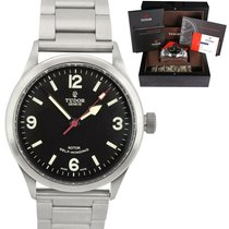 Tudor Heritage Ranger Steel 41mm Black