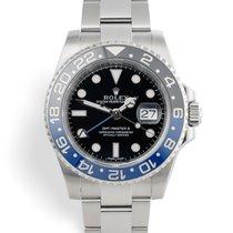 Rolex 116710BLNR Steel 2014 GMT-Master II 40mm pre-owned United Kingdom, London