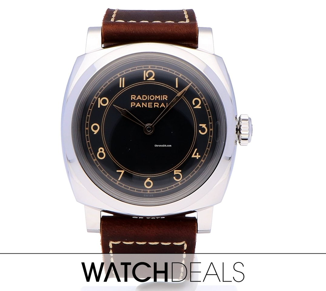 Panerai Radiomir 1940 3 Days from 2018 complete set with B+P