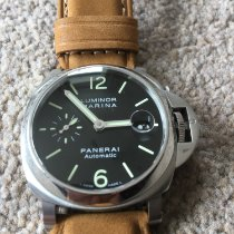 Panerai Luminor Marina Automatic Steel 40mm Black Arabic numerals United Kingdom, Farnborough