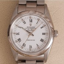 Rolex Air King Precision Staal 34mm Wit Romeins Nederland, Amstelveen