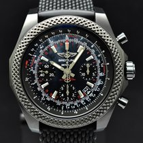 Breitling Bentley B06 Steel 44mm Black No numerals