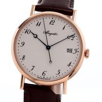 Breguet Red gold Automatic White Arabic numerals 38mm pre-owned Classique