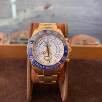 Rolex Yacht-Master II Or jaune 44mm Blanc Sans chiffres France, Cannes
