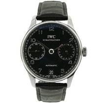 IWC Portuguese Automatic Steel Black Arabic numerals United States of America, New York, New York