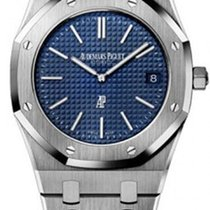 Audemars Piguet Royal Oak Jumbo Stahl Blau