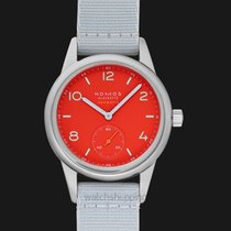 NOMOS Club Neomatik 37.0mm Red United States of America, California, San Mateo