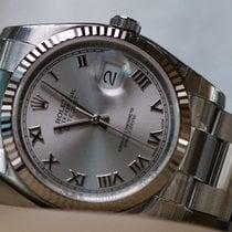 Rolex OYSTER PERPETUAL DATEJUST 36 dark rhodium dial