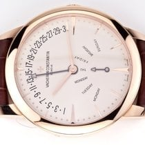 Vacheron Constantin Patrimony Red gold 42.5mm Silver United States of America, Florida, Aventura
