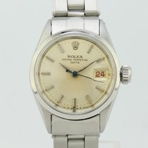Rolex Acero Automático Champán Sin cifras 25mm usados Oyster Perpetual Lady Date