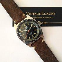 Tissot SeaStar PR 516 Green Dial  Vintage Diver Nice Condition