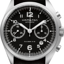 Hamilton Chronograph 41mm Automatic new Khaki Pilot Pioneer Black