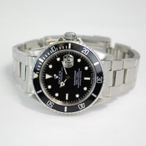 Rolex Submariner Date Stainless Steel Black Dial - 16800