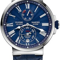 Ulysse Nardin Marine Chronometer 43mm Steel 43mm Blue United States of America, New York, Airmont