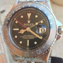 Rolex GMT-Master 1675 PCG Gilt Chapter Ring Exclamation Point...