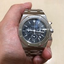 Audemars Piguet Complete Set Blue Dial Royal Oak Chronograph