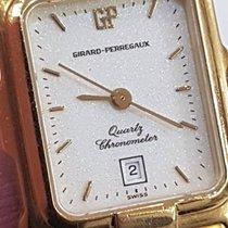Girard Perregaux Gold 18 kt Quartz Chronomete Date Deployant