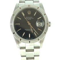 Rolex Oyster Perpetual Date Steel 34mm Black No numerals Australia, Chadstone Victoria
