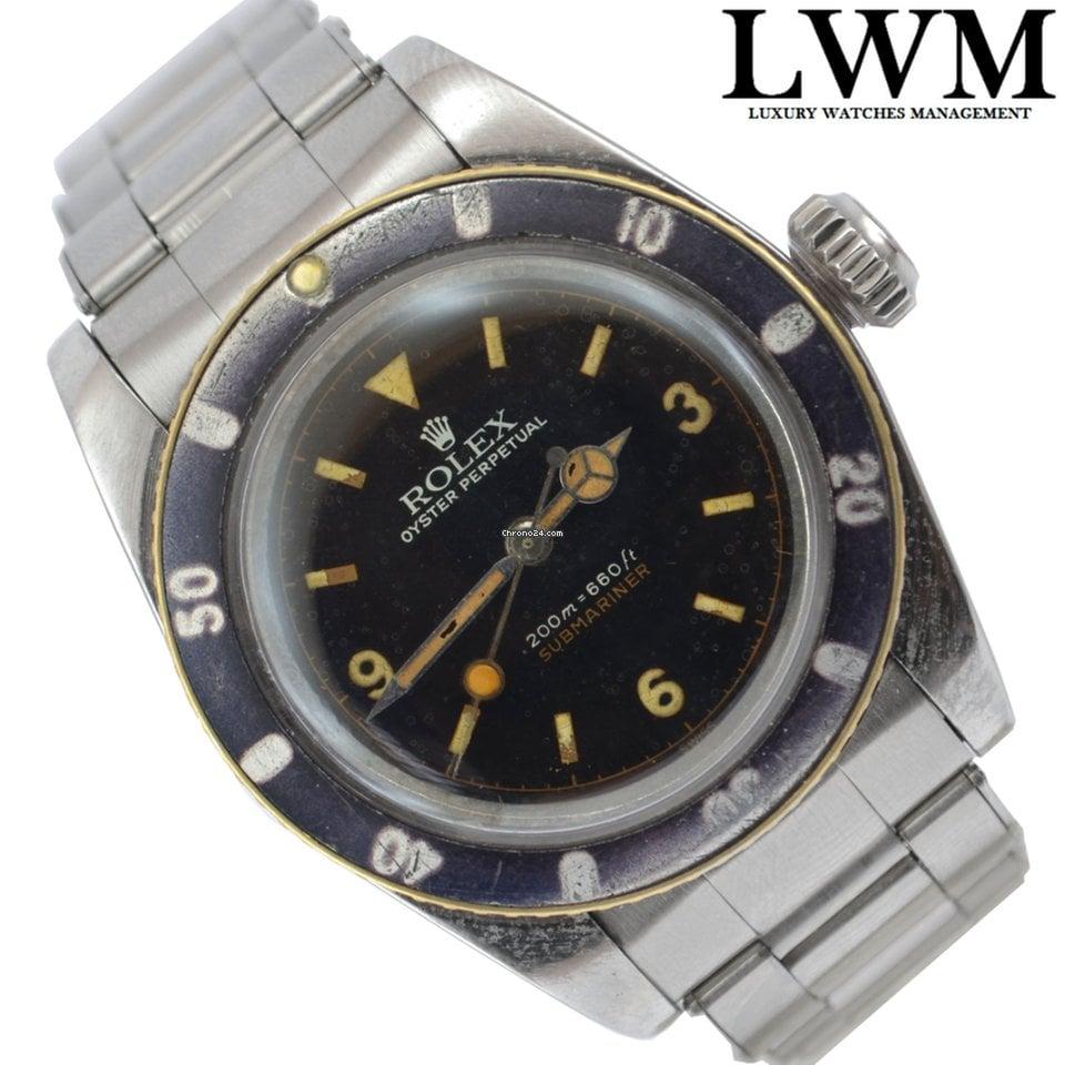 new arrivals cf6e1 2167d Rolex Submariner 6538 Coroncione James Bond Explorer dial