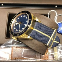 Tudor Heritage Black Bay Bronze Bucherer Blu