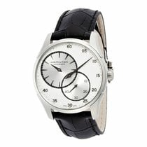 Hamilton Jazzmaster Regulator Men's Automatic Leather Watch...