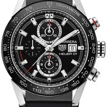 TAG Heuer Carrera Calibre HEUER 01 new 2018 Automatic Chronograph Watch with original box and original papers CAR201Z.FT6046
