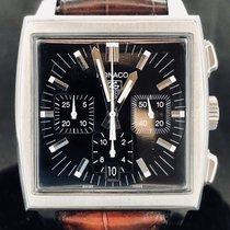 TAG Heuer Monaco Chronograph, Automatic, Black Dial, 38MM - MINT