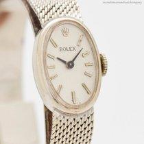 Rolex Sehr gut Weißgold 15mm Handaufzug