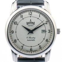 Askania C. Bamberg Steel 42mm Silver Arabic numerals