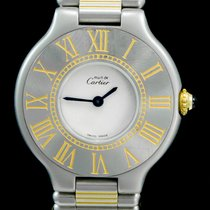 Cartier 21 Must de Cartier occasion 28mm Or/Acier