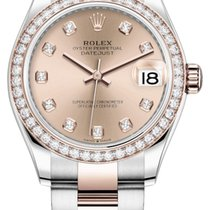 Rolex Lady-Datejust 278381rbr Gold Diamond Oyster Неношеные Золото/Cталь 31mm Автоподзавод