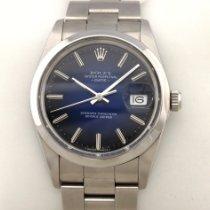 Rolex Oyster Perpetual Date 15000 blue blau Automatik Service 06.2019 1988 occasion