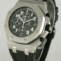 Audemars Piguet Royal Oak Offshore Chronograph Volcano Acero 43mm Negro