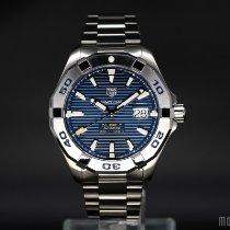 泰格豪雅 Aquaracer 300M 鋼 43mm 藍色 無數字 香港, Tsim Sha Tsui, Kowloon,