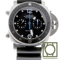 Panerai Luminor Submersible 1950 3 Days Automatic Titan 47mm Svart Arabiska